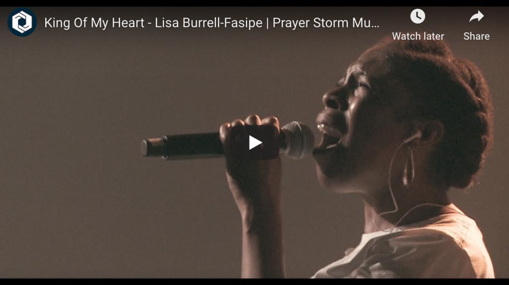 Lisa Burrell-Fasipe - King of My Heart PS