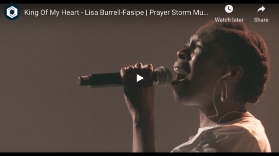 Lisa Burrell-Fasipe - King of My Heart PS